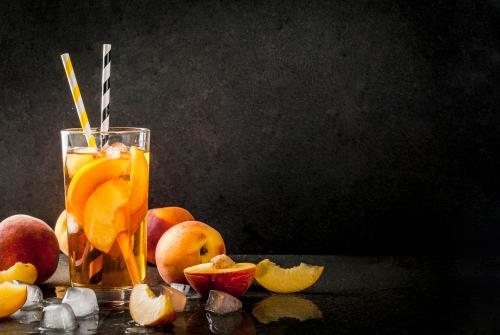 Peach long island iced tea