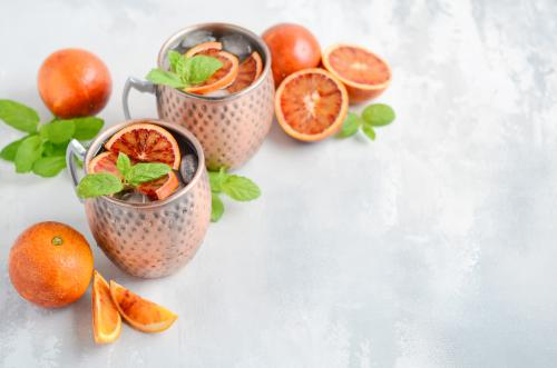 orange-caramel moscow mule