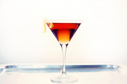Stringer Cocktail on a platter