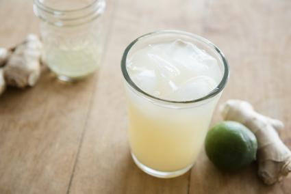Ginger ale Moscow mule cocktail
