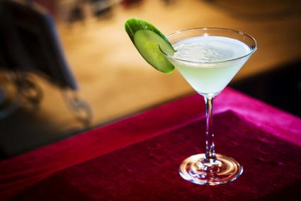 Cucumber lemon drop