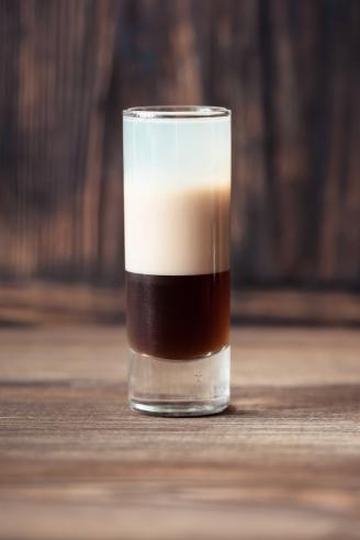 Cafe-au-lait shot