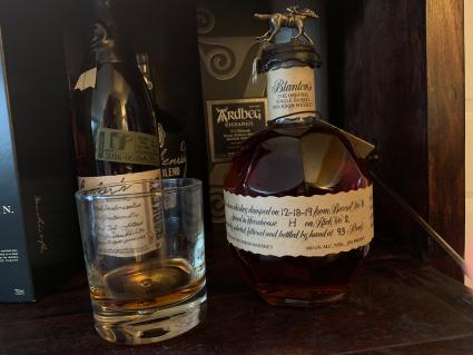 Blanton's original single barrel bourbon