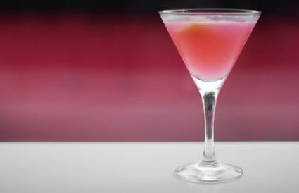 Pink Whitney martini