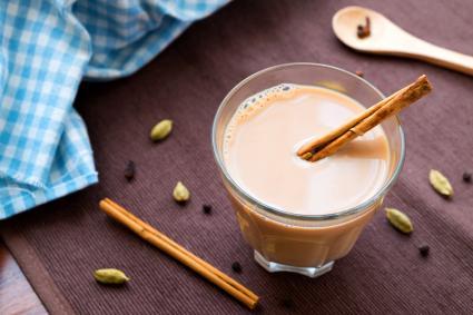 Baileys chai tea with spices