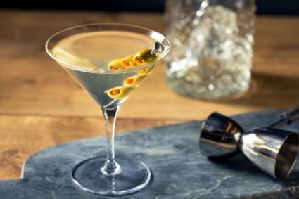 Traditional Dirty Martini
