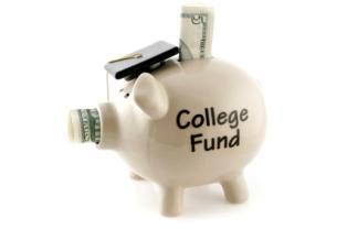 Piggy bank college fund