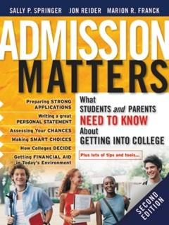 Admission Matters cover