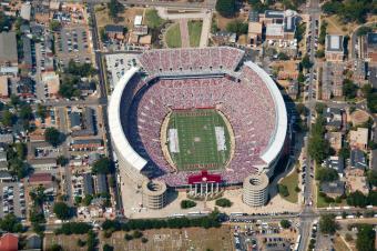 Football Stadium in Tuscaloosa, Alabama