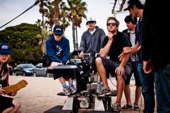 LMU film crew