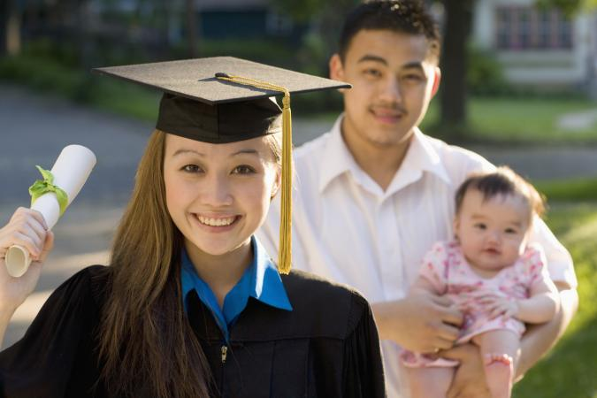graduate mother