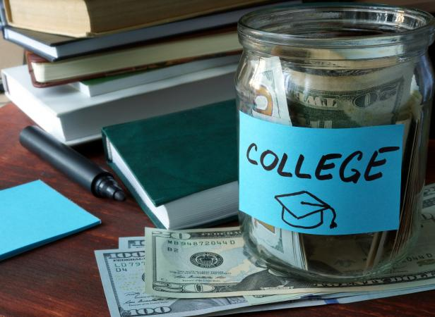 college cash jar