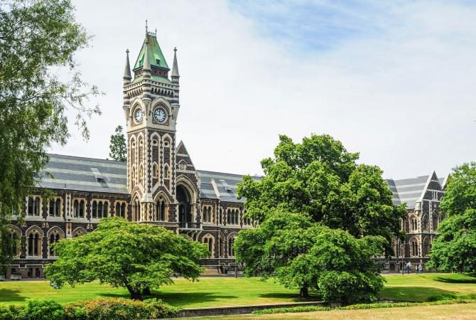University of Otago in New Zealand