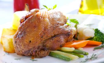 Chinese crispy duck