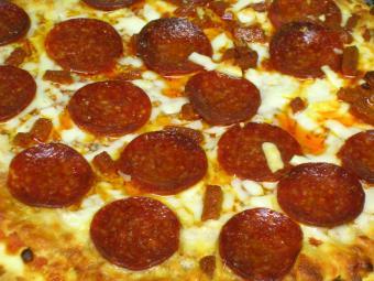 Recipe for Pepperoni Pizza