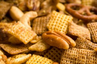 Image of tasty Ranch party mix