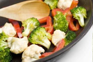 fresh vegetable saute