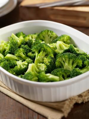 Microwaved broccoli