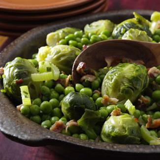 Holiday brussel sprouts - Image provided courtesy of Taste of Home magazine. Find more great recipes at www.tasteofhome.com