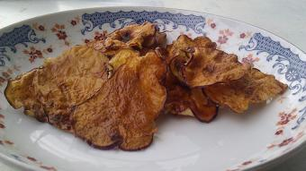 Kohrabi chips | Photo courtesy One Leaf Farm