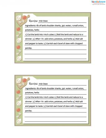 Click to download the cutting board cards.