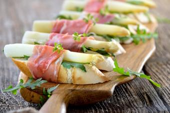 White Asparagus Crostini