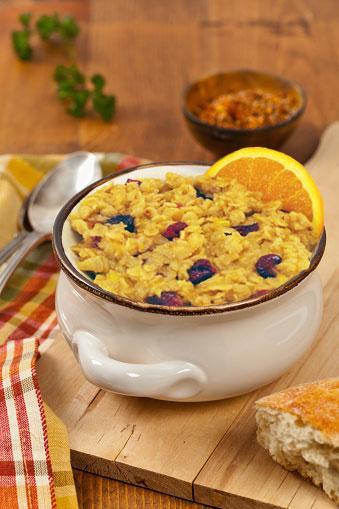 Slow Cooker orange cranberry oatmeal