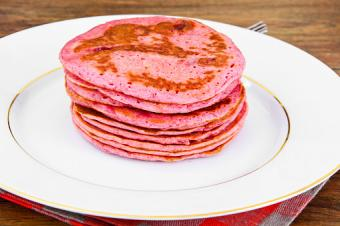 Pancake with Beets
