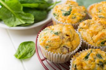 Muffins with vegies