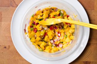 Mango Salsa Vegan Casserole