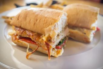 reheated sandwich