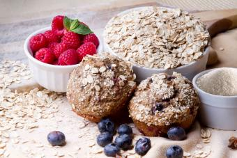 Truly Tasty Blueberry Muffins