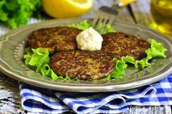 Beef fritters