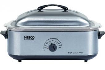 Nesco 18-Quart Stainless Steel Roaster Oven