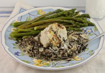 Stuffed Baked Sea Bass Recipe
