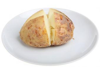 Microwaved potato