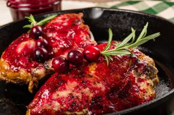 Rosemary Chicken With Honey and Cranberries