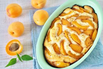 Apricot oatmeal casserole
