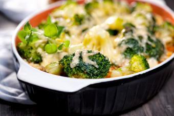 Avocado broccoli casserole