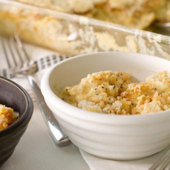 Poppy seed chicken casserole dish
