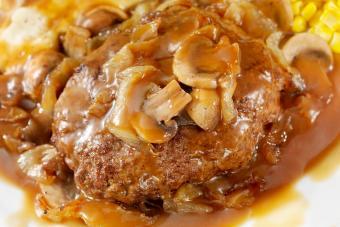 Hamburger Steak with Gravy