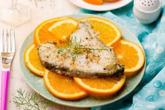 Orange Dill Halibut Steaks