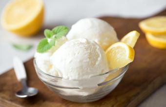 Lemon Cream Sherbet