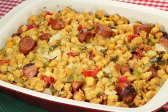 Andouille stuffing