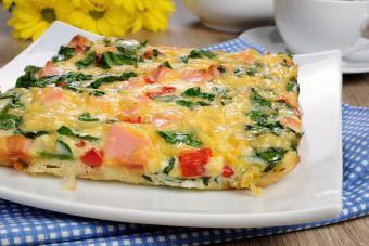 Keto ham and eggs