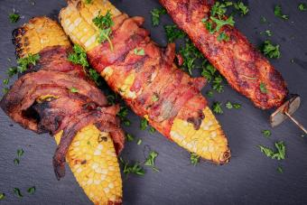 Bacon Wrapped Sweet Corn