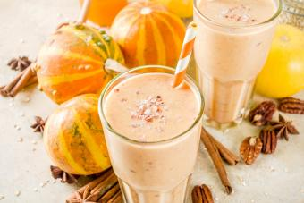 Pumpkin smoothies