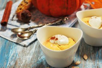 Homemade Pumpkin Mousse
