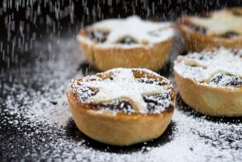 with Icing Sugar