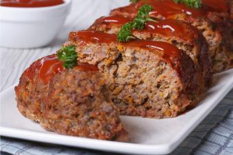 Sweet Potato Meatloaf